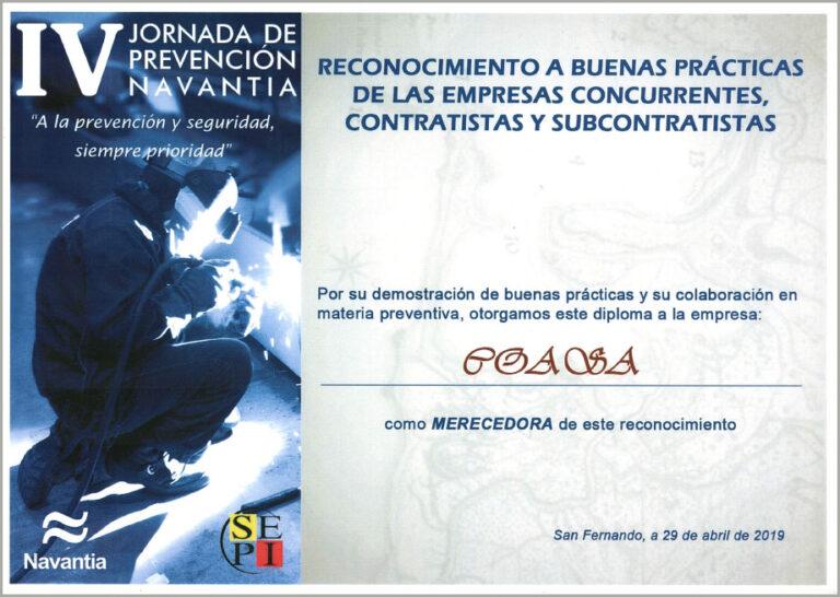 IV Jornada de prevención NAVANTIA