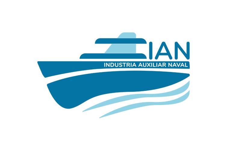 Nuevo Logotipo de Industria Auxiliar Naval (IAN)